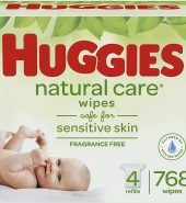 HUGGIES WIPES NATURAL CARE 768CT