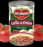 Del Monta Pasta  Sauce  Garlic&Onion