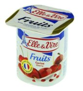 Elle & Vire Yogurt(Cherry)