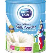 Dutchlady Instant Full Cream Milk Powder 900g