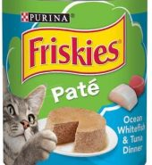 Purina® Friskies® Pate Ocean Whitefish & Tuna Dinner Cat Food 368g Can