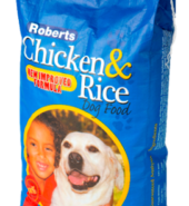 Roberts Dog Food Chicken & Rice – 5kg