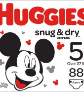 Huggies Snug & Dry Diapers, Size 5, 25Ct