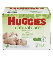 HUGGIES WIPES NATURAL CARE 352CT