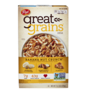 Great Grains Post Banana Nut Crunch