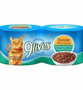 9 Lives Tender Morsels with Real Flaked Tuna & Cheese Bits