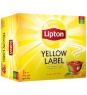 Lipton Yellow Label Rich, Natural Taste, 100 Tea Bags, 200g