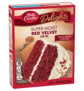Betty Crocker Super Moist Cake Mix Red Velvet