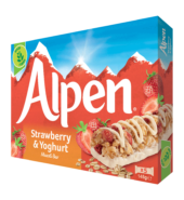 Alpen Bars – Strawberry & Yoghurt