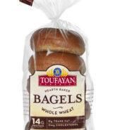 Toufayan Whole Wheat Bagels
