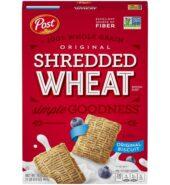 POST Shredded Wheat  Breakfast Cereal