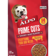 Purina Alpo Prime Cuts Savory Beef Dog Food, 14 lb