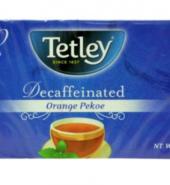 Tetley Decaffeinated Orange Pekoe 40g