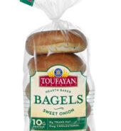 Toufayan Sweet Onion Bagels