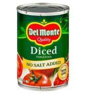 Del Monte Diced Tomato 411G