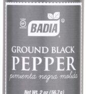 Badia Ground Black Pepper 57g