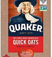 Quaker Quick Quaker Oats 1kg
