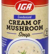 IGA Cream Of Mushroom 298g