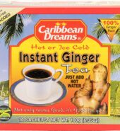 Caribbean Dreams Instant Ginger Tea Un-Sweetened 10 Sachets
