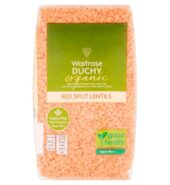 Waitrose Organic Red Split Lentils 500g