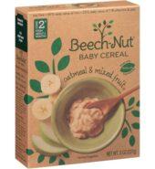 Beechnut Oatmeal Mix Fruit Cereal