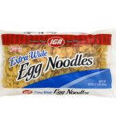 IGA Noodles X Wide Egg 454g