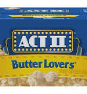 Act II Popcorn Butter Lovers 80.8g