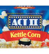 Act II Kettle Corn 3pk