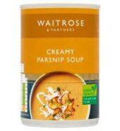 Waitrose Soup Parsnip & Ginger 350g