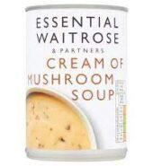 Waitrose Soup Cream Of Mushroom 400g