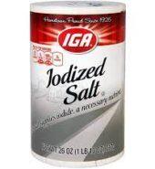 IGA Iodized Salt 737g