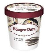 Haagen Dazs Cookies & Cream 473ML