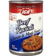 IGA Ravioli Beef 425g