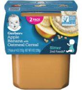 Gerber #2 Oatmeal & Banana