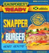 Rainforest Snapper Burger 340G