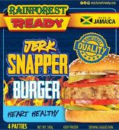 Rainforst Jerk Snapper Burger 4CT