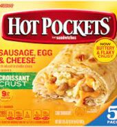 HOT POCKETS Sausage Egg and Cheese Frozen Sandwiches