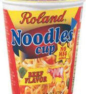 Roland Noodles Cup Beef 68g
