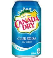 Canada Dry Club Soda 355ml