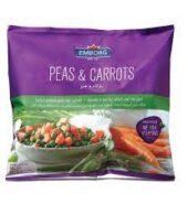 Emborg Peas & Carrots 900G