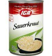 IGA Sauerkraut 408g