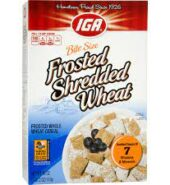 IGA Frosted Shredded Wheat 510G