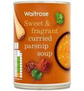Waitrose Soup Spicy Parsnip 400g