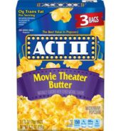 Act II Movie Theatre Butter 3pk