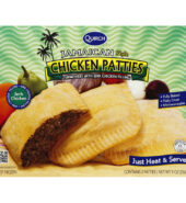 Qurich Jerk Chicken Patties 284G
