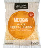Essential Everyday Cheese Blend Four Mexican Style
