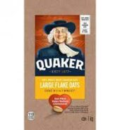 Quaker Oats Large Flake 1kg