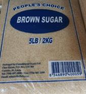 Peoples Choice Brown Sugar 2.27kg