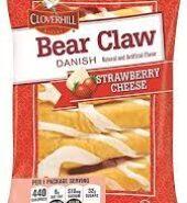 Clovehill Bear Claw StrawberryCheese Danish 120G
